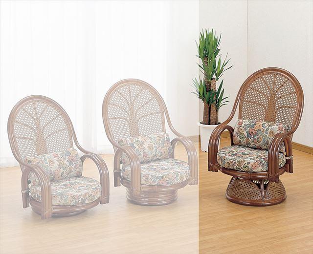 安い購入 ラウンドチェアー ハイタイプ TK-666B 回転式 ブラウン 籐 籐家具 座椅子 イス 椅子 イス 製 回転式 アジアンリビングルーム籐 ラタン 製 輸入品 完成品, アイエムビー:5b5a6aa1 --- portalitab2.dominiotemporario.com