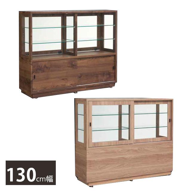 130キャビネット コレクション 高さ110cm 幅130cm 飾り棚 コレクションケース ディスプレイ ショーケース 什器