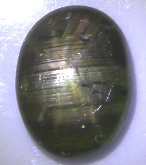 天然石 12条・グリーンスターサファイア3.99ct