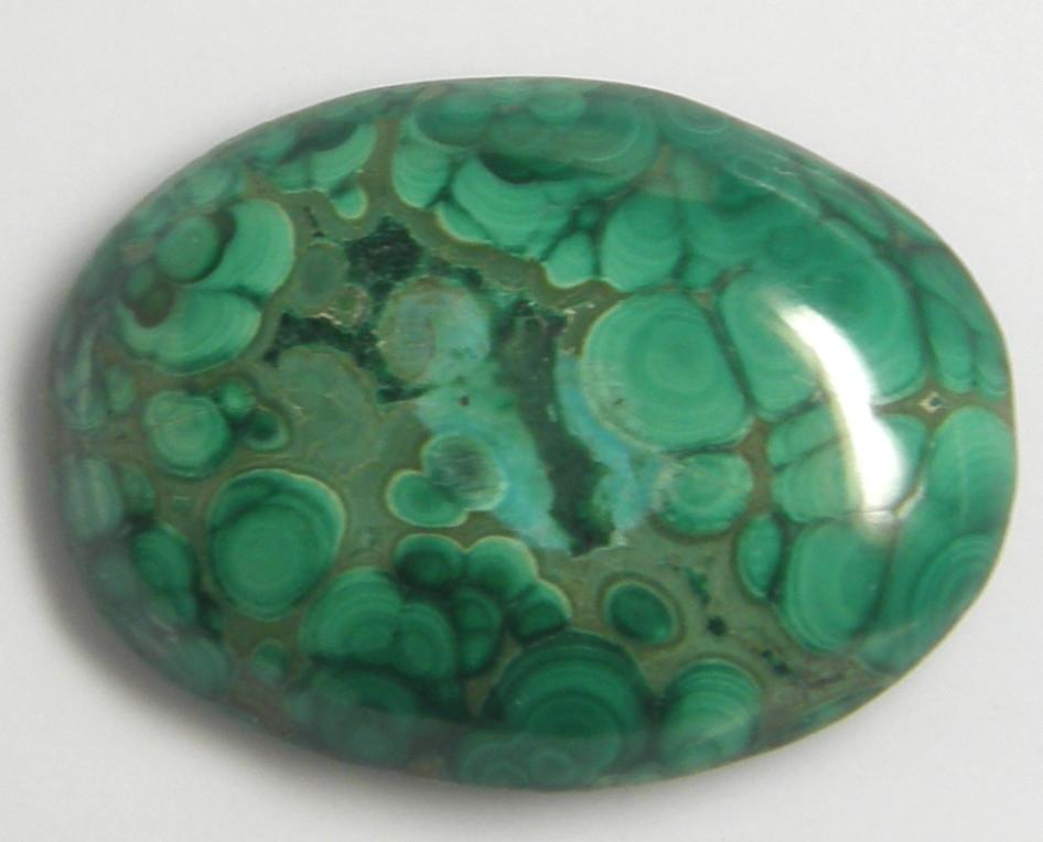 高級な 天然石 マラカイト42.43ct 低廉