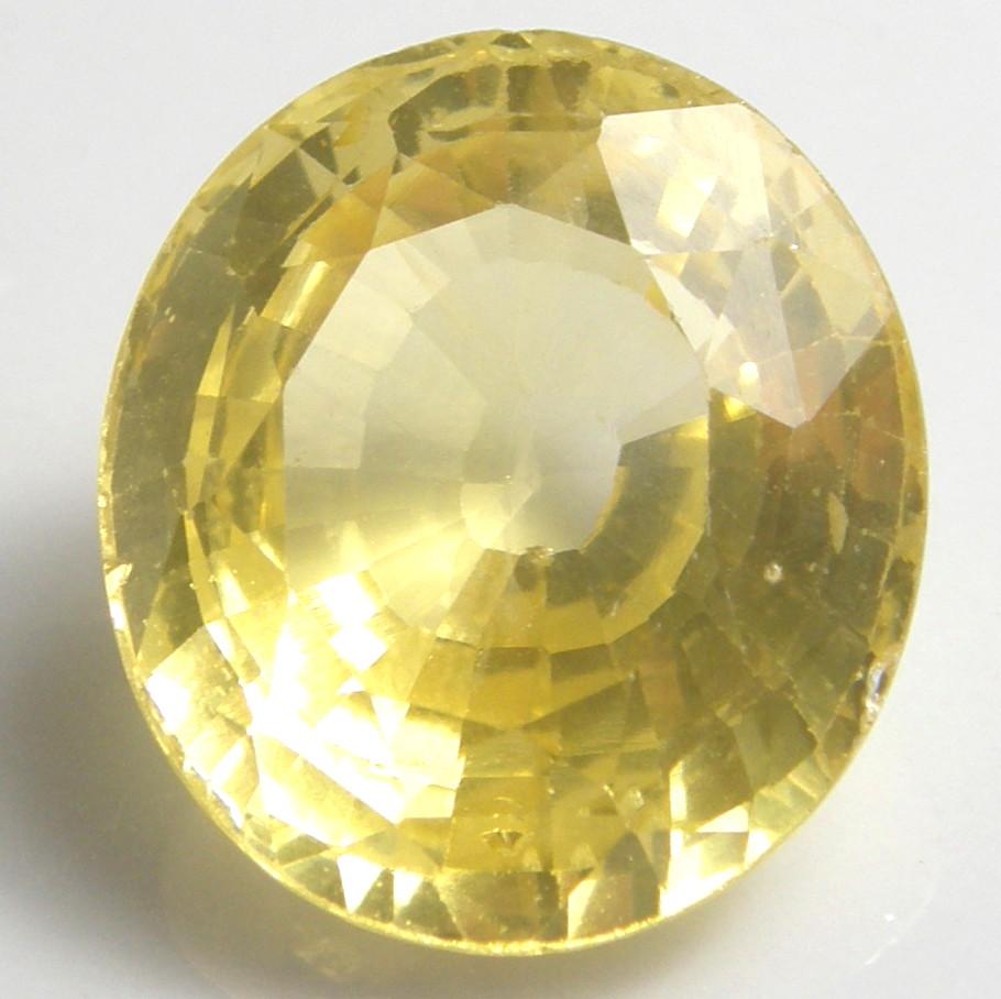 天然石 イエローサファイア10.353ct