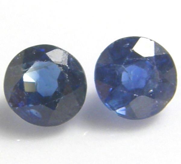 天然石 ブルーサファイア0.92ctペアー セール価格 大好評です