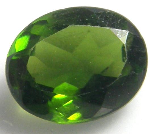 天然石 お気に入 クロムダイオプサイト0.62ct 実物