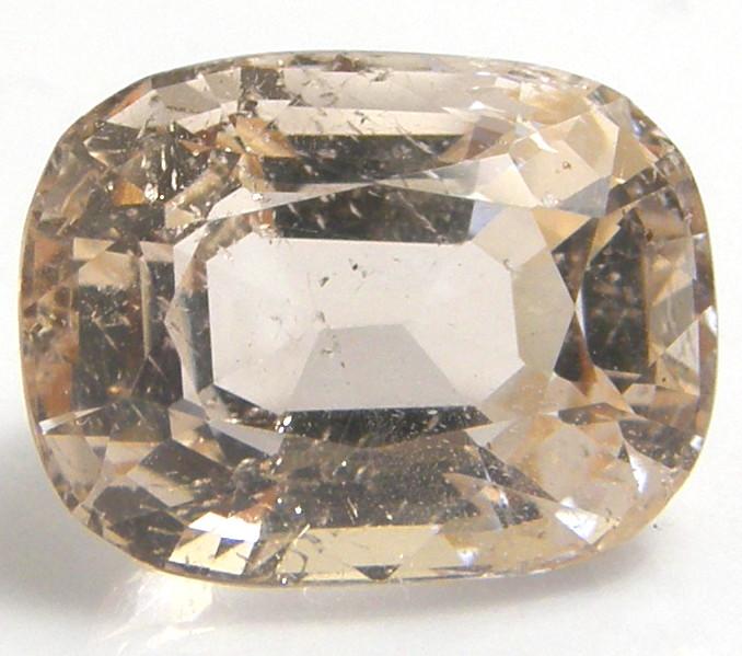 天然石オレンジトパーズ6.61ctミャンマー産