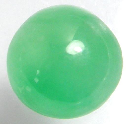 天然石 翡翠5.681ct(アップルグリーン色)