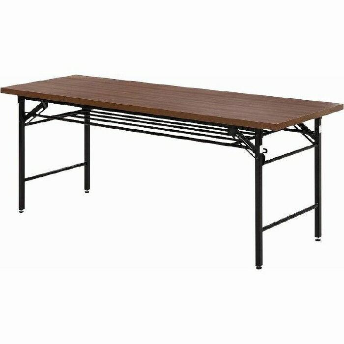 会議テーブル ハイタイプ 6070D ブラウン fj-94465送料無料 北欧 モダン 家具 インテリア ナチュラル テイスト 新生活 オススメ おしゃれ 後払い ダイニング ナチュラルテイスト