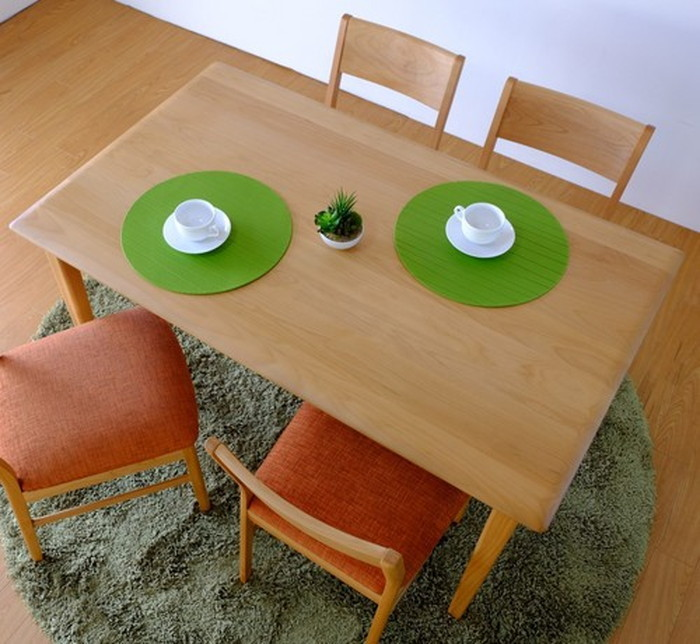 ダイニングテーブル 幅125cm ナチュラル ERIS-2 125 DINING TABLE ise-3317296s1 北欧 送料無料 クーポン プレゼント 通販 NP 後払い 新生活 オススメ %off ジェンコ 北欧 モダン インテリア ナチュラル テイスト ダイニング ナチュラルテイスト