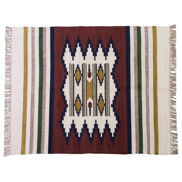 キリムラグ az-ttr-107c 北欧 送料無料 クーポン プレゼント 通販 NP 後払い 新生活 オススメ %off ジェンコ 北欧 モダン インテリア ナチュラル テイスト マット 絨毯 ラグ カーペット リビング