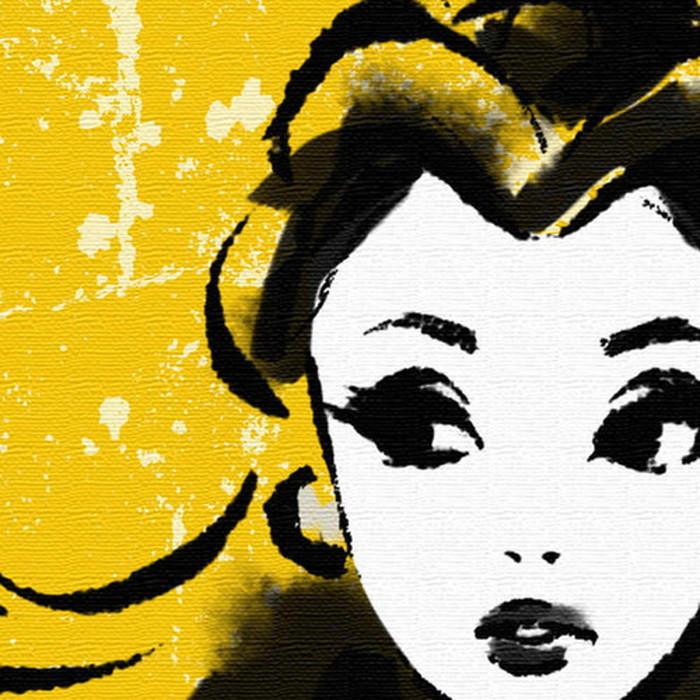 プリンセスシリーズ アートパネル ベル ディズニー 美女と野獣 XLサイズ 100cm×100cm lib-4121986s9送料無料 北欧 モダン 家具 インテリア ナチュラル テイスト 新生活 オススメ おしゃれ 後払い 雑貨