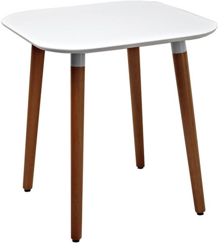 PPテーブル ホワイト カフェテーブル ダイニングテーブル テーブル 木製 ホワイト sun-4860589s1 北欧 送料無料 クーポン プレゼント 通販 NP 後払い 新生活 オススメ %off ジェンコ 北欧 モダン インテリア ナチュラル テイスト ダイニング ナチュラルテイ