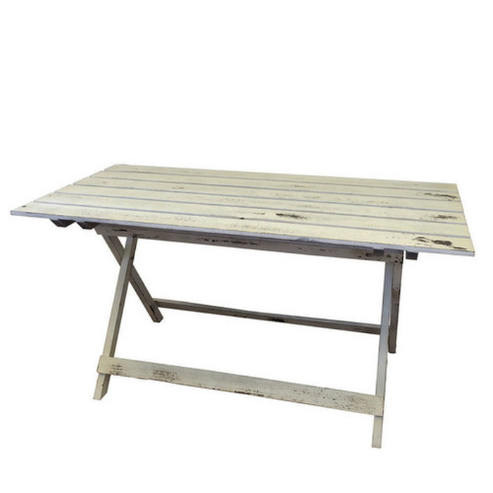 ウッドファニチャー ホワイト塗装 折り畳みテーブル ガーデンテーブル sun-4860599s1 北欧 送料無料 クーポン プレゼント 通販 NP 後払い 新生活 オススメ %off ジェンコ 北欧 モダン インテリア ナチュラル テイスト ダイニング ナチュラルテイスト
