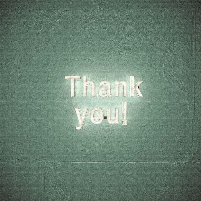 Thank you アートパネル poht-1805-39 XLサイズ 100cm×100cm lib-6215321s4送料無料 北欧 モダン 家具 インテリア ナチュラル テイスト 新生活 オススメ おしゃれ 後払い 雑貨