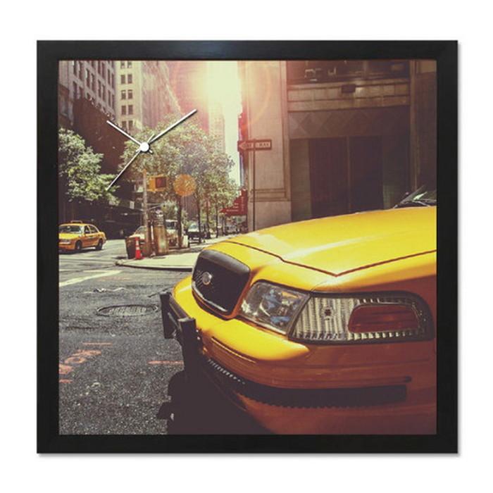 アート+時計 A-CLOCK 黄 Cab ブラック AC-1004 kar-5620676s2送料無料 北欧 モダン 家具 インテリア ナチュラル テイスト 新生活 オススメ おしゃれ 後払い クロック 掛け 置き