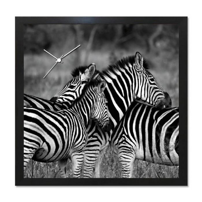アート+時計 A-CLOCK Zebra シマウマ ブラック AC-1007 kar-5620685s2送料無料 北欧 モダン 家具 インテリア ナチュラル テイスト 新生活 オススメ おしゃれ 後払い クロック 掛け 置き