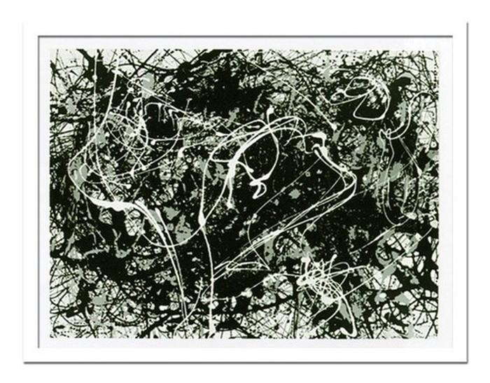 インテリアアート Jackson Pollock Number 33 ヒモ付 AB-10668 kar-3097043s1 北欧 送料無料 クーポン プレゼント 通販 NP 後払い 新生活 オススメ %off ジェンコ 北欧 モダン インテリア ナチュラル テイスト 雑貨