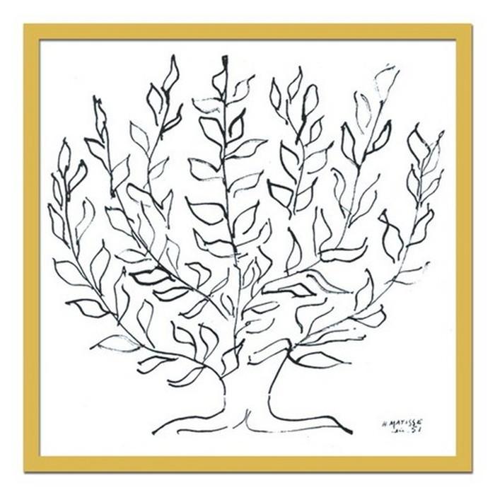 インテリアアート Henri Matisse Le platane 1951 ヒモ付 AB-10648 kar-3097045s1 北欧 送料無料 クーポン プレゼント 通販 NP 後払い 新生活 オススメ %off ジェンコ 北欧 モダン インテリア ナチュラル テイスト 雑貨
