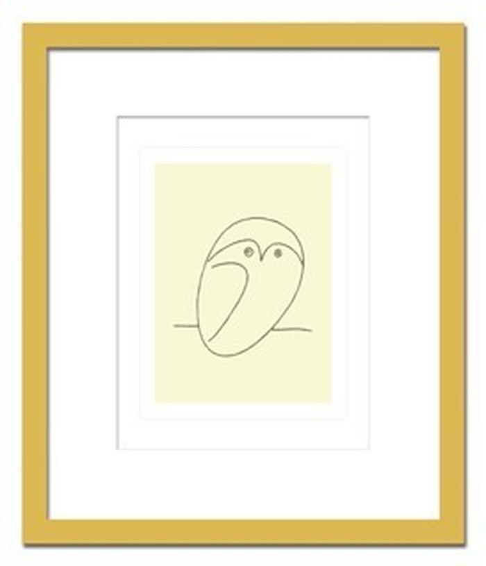 インテリアアート Pablo Picasso Le hibou ヒモ付 AB-10658 kar-3097050s1送料無料 北欧 モダン 家具 インテリア ナチュラル テイスト 新生活 オススメ おしゃれ 後払い 雑貨
