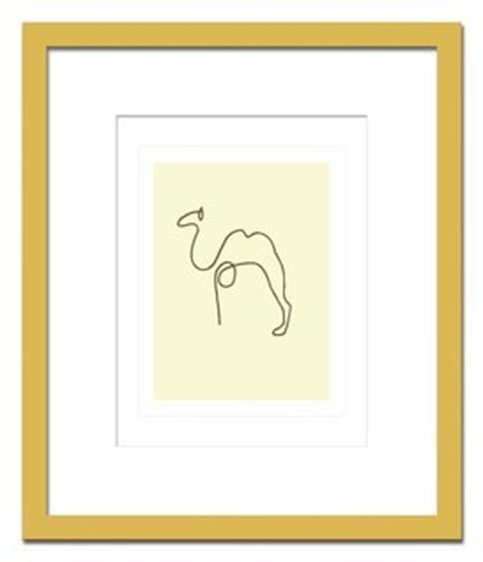 インテリアアート Pablo Picasso Le chameau ヒモ付 AB-10660 kar-3097052s1 北欧 送料無料 クーポン プレゼント 通販 NP 後払い 新生活 オススメ %off ジェンコ 北欧 モダン インテリア ナチュラル テイスト 雑貨