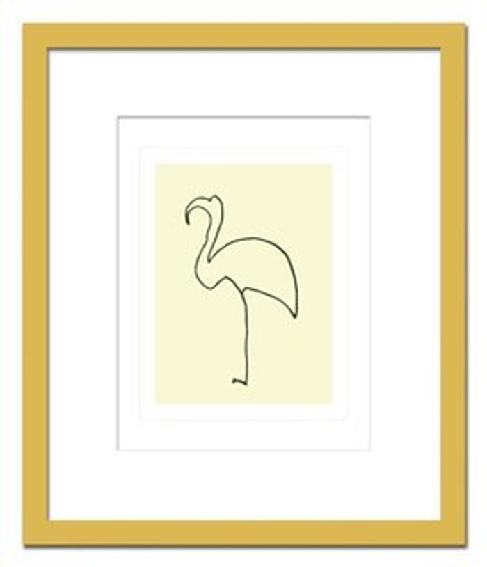 インテリアアート Pablo Picasso Le flamand rose ヒモ付 AB-10664 kar-3097056s1 北欧 送料無料 クーポン プレゼント 通販 NP 後払い 新生活 オススメ %off ジェンコ 北欧 モダン インテリア ナチュラル テイスト 雑貨