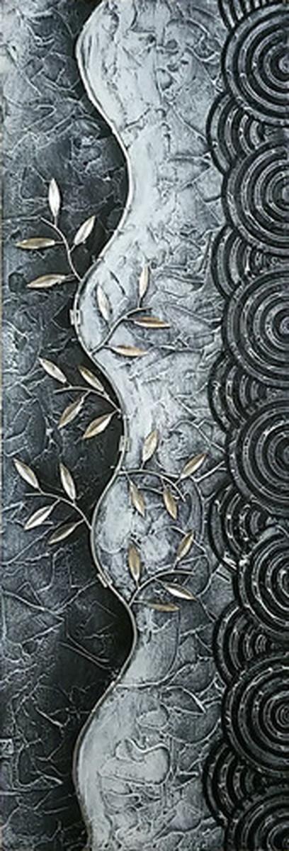 バリ アーティスト 手描き インテリア アート 3D ABSTRACT ART C ヒモ付 BA-1003 kar-5621043s1 北欧 送料無料 クーポン プレゼント 通販 NP 後払い 新生活 オススメ %off ジェンコ 北欧 モダン インテリア ナチュラル テイスト 雑貨
