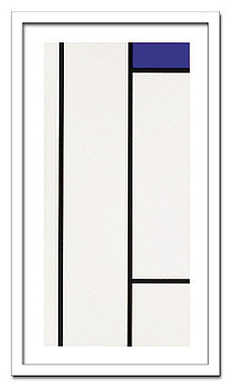 インテリアアート PIET MONDRIAAN Composition blanc bleu ヒモ付 AB-13310 kar-6303779s1 北欧 送料無料 クーポン プレゼント 通販 NP 後払い 新生活 オススメ %off ジェンコ 北欧 モダン インテリア ナチュラル テイスト 雑貨