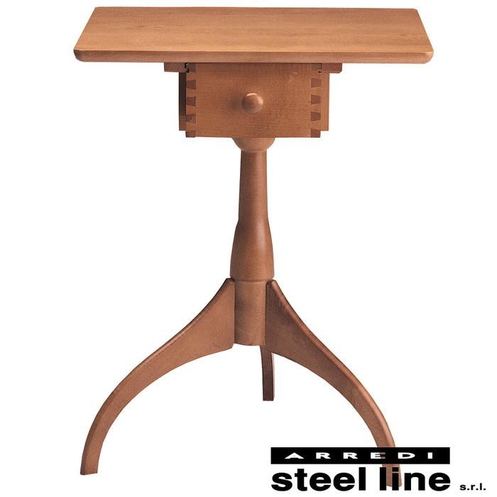 シェーカー サイドテーブルテーブル 引き出し有 イタリア製 stl-531送料無料 北欧 モダン 家具 インテリア ナチュラル テイスト 新生活 オススメ おしゃれ 後払い ダイニング ナチュラルテイスト