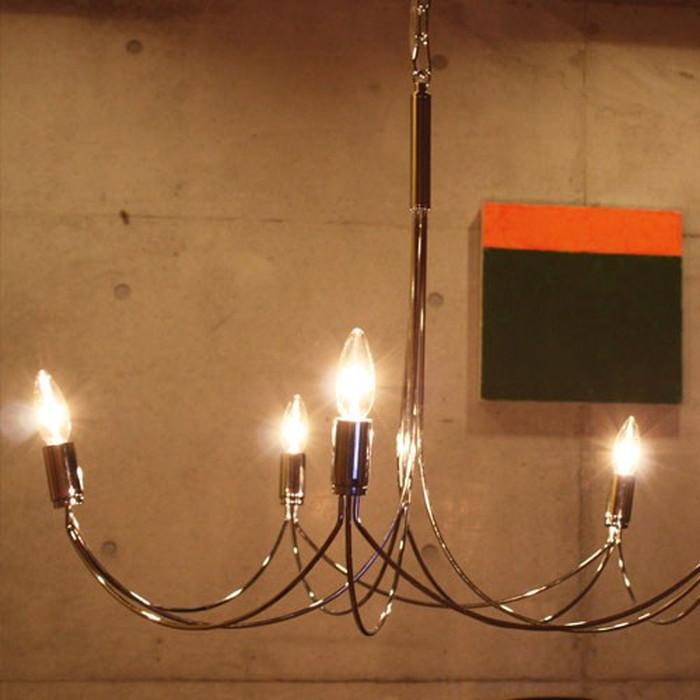 シャンデリア アルコグランデ 5灯 di-lp2000ch送料無料 北欧 モダン 家具 インテリア ナチュラル テイスト 新生活 オススメ おしゃれ 後払い ライト 照明 フロア スタンド