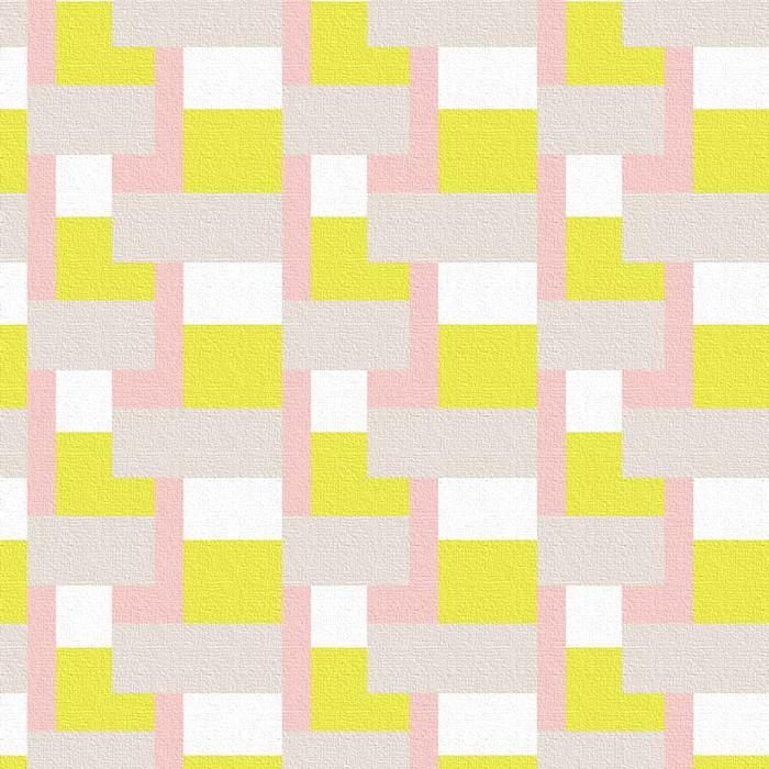 オススメ 雑貨 インテリア patt-1803-032 テイスト 家具 モダン 新生活 後払い 【スーパーセール対象商品】幾何学模様 ナチュラル 100cm×100cm XLサイズ lib-6799505s4送料無料 おしゃれ 北欧 アートパネル
