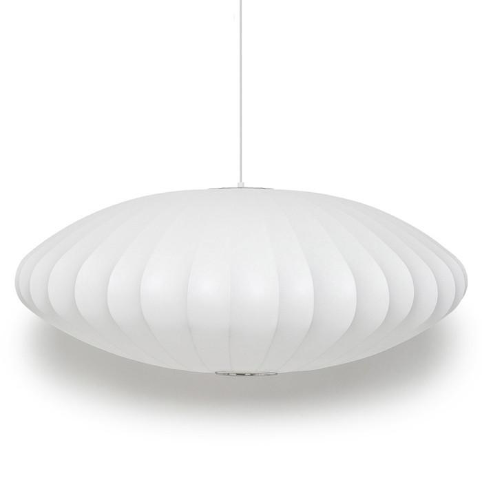 ジョージ・ネルソン ペンダントライト バブルランプ Saucer Lamp XLサイズ送料無料 北欧 モダン 家具 インテリア ナチュラル テイスト 新生活 オススメ おしゃれ 後払い ライト 照明 フロア スタンド