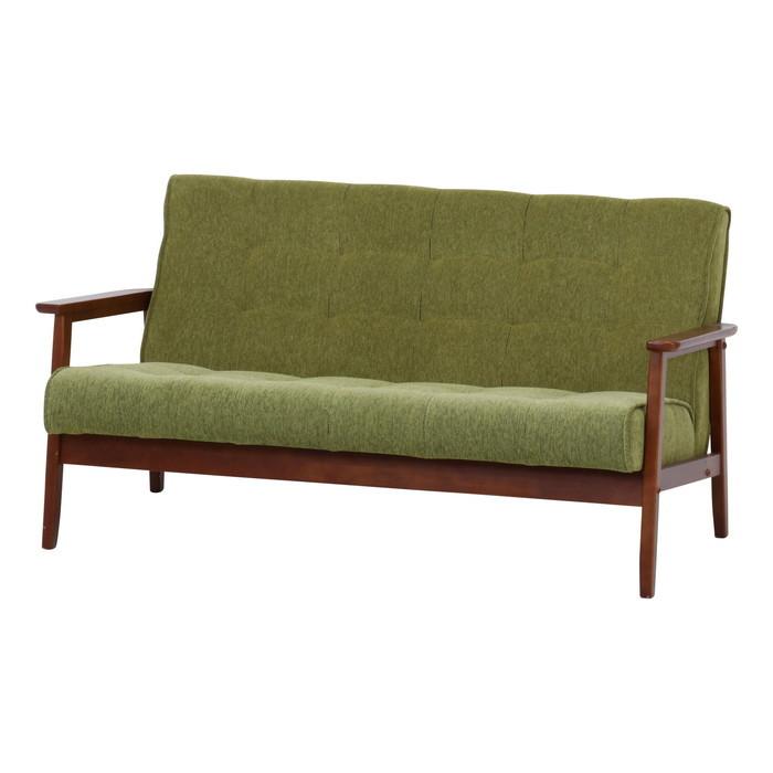 ファブリックソファー フレンズ グリーン 3P 846 fj-34208送料無料 北欧 モダン 家具 インテリア ナチュラル テイスト 新生活 オススメ おしゃれ 後払い ソファ sofa