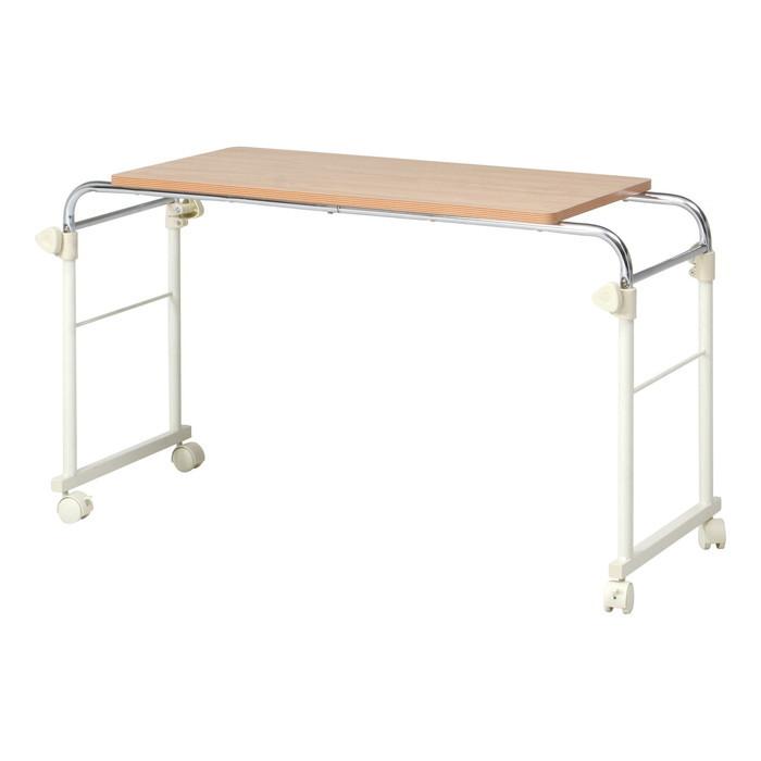 ベッドテーブル BT-302WH fj-70395送料無料 北欧 モダン 家具 インテリア ナチュラル テイスト 新生活 オススメ おしゃれ 後払い ダイニング ナチュラルテイスト