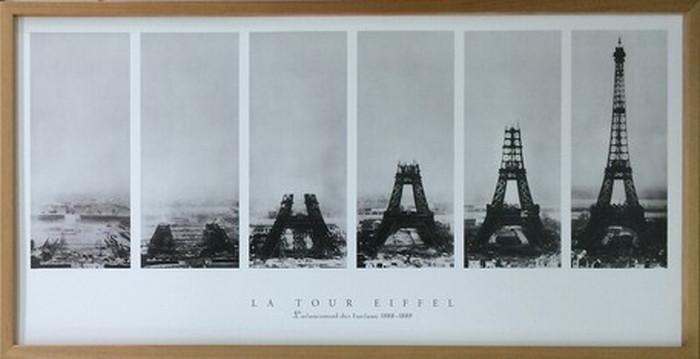 アートフレーム Vintage Photography La Tour Eiffel 1030x530x30mm IVP-60585 bic-6942345s1送料無料 北欧 モダン 家具 インテリア ナチュラル テイスト 新生活 オススメ おしゃれ 後払い 雑貨
