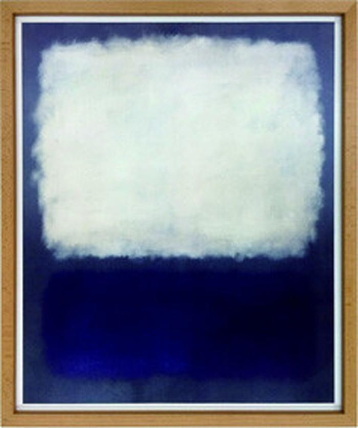 アートフレーム マーク・ロスコ Mark Rothko Blue and grey 1962 540x645x30mm IMR-60752 bic-6942404s1送料無料 北欧 モダン 家具 インテリア ナチュラル テイスト 新生活 オススメ おしゃれ 後払い 雑貨