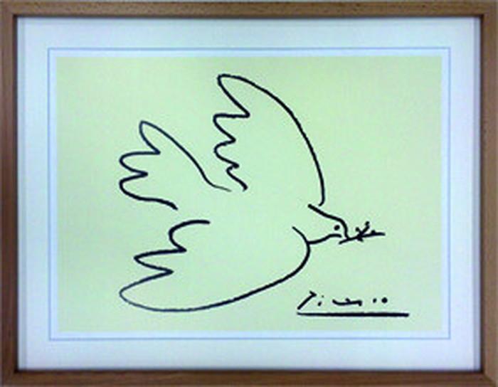 アートフレーム パブロ・ピカソ Dove of Peace 710x550x30mm IPP-60745 bic-6942406s1送料無料 北欧 モダン 家具 インテリア ナチュラル テイスト 新生活 オススメ おしゃれ 後払い 雑貨