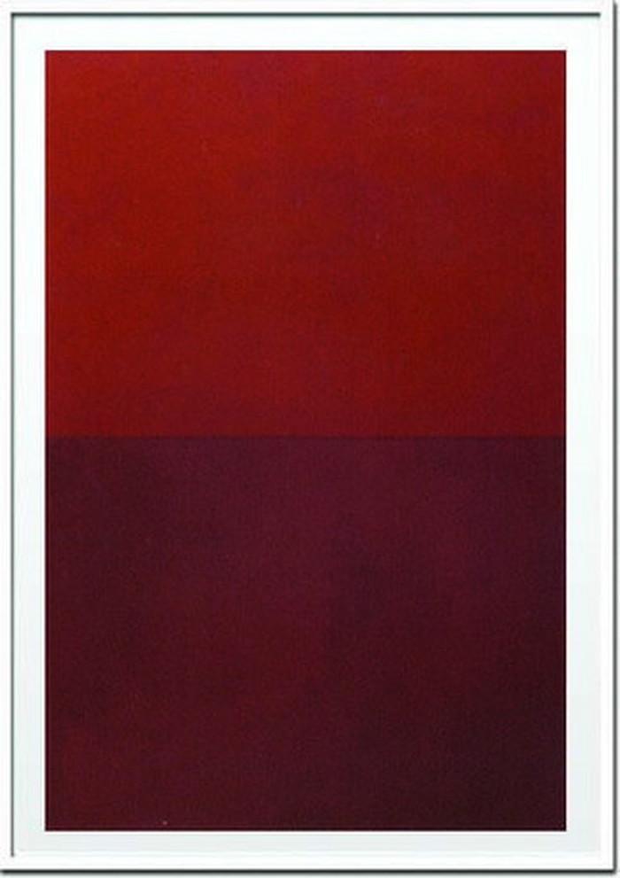 アートフレーム ウラード・ フィエリ Vlado Fieri Monochrome Red 2005 Silkscreen 730x1030x30mm IVF-14369 bic-6942451s1送料無料 北欧 モダン 家具 インテリア ナチュラル テイスト 新生活 オススメ おしゃれ 後払い 雑貨