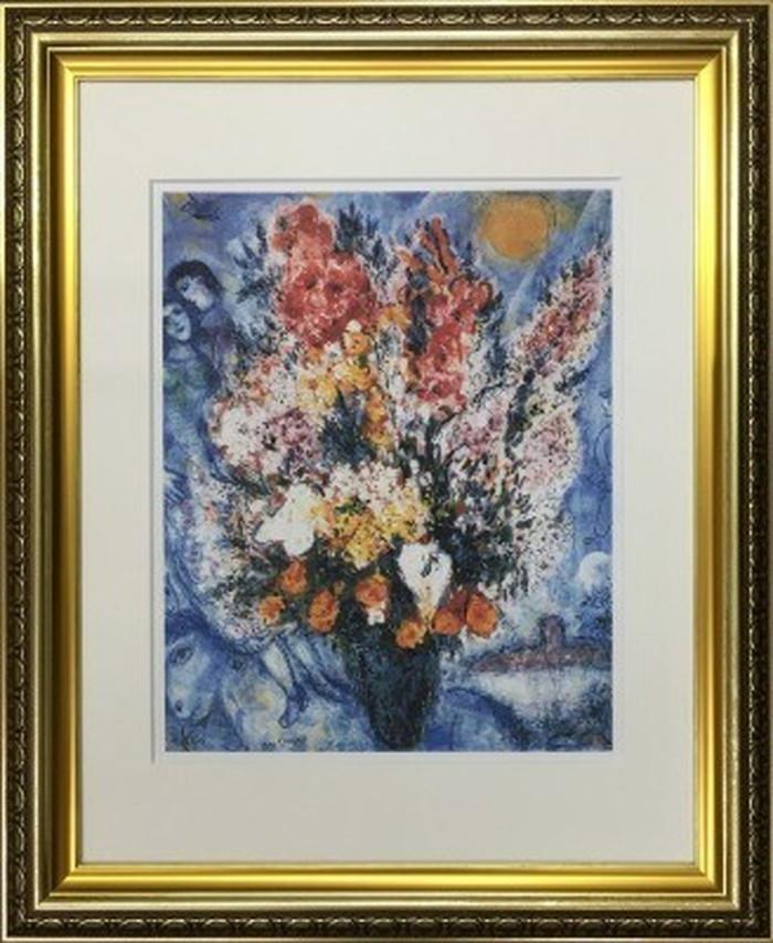 アートフレーム 名画 マルク・シャガール Marc Chagall 天に捧げる花束 490x595x25mm IFA-60899 bic-6942543s1送料無料 北欧 モダン 家具 インテリア ナチュラル テイスト 新生活 オススメ おしゃれ 後払い 雑貨