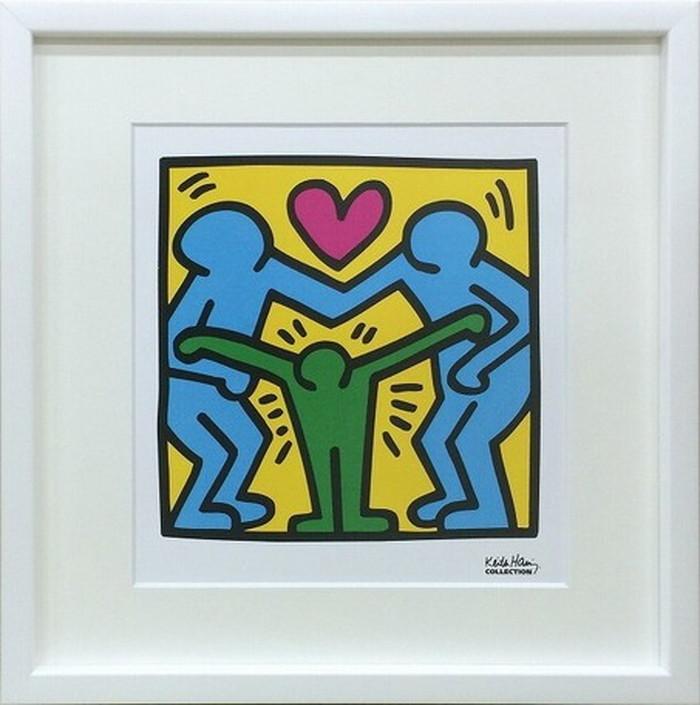 ポップアート キースへリング Keith Haring Untitled 430x430x30mm IKH-60573 bic-6943023s1送料無料 北欧 モダン 家具 インテリア ナチュラル テイスト 新生活 オススメ おしゃれ 後払い 雑貨