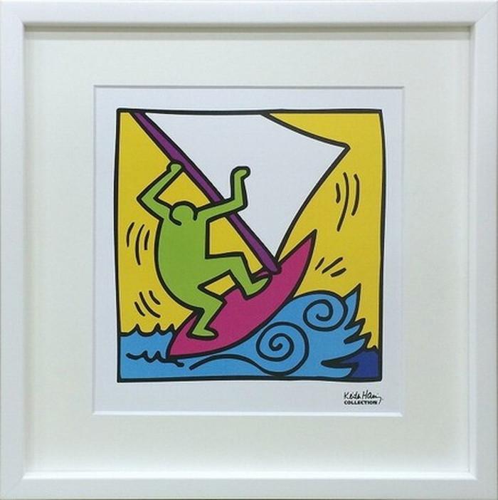 ポップアート キースへリング Keith Haring Untitled 430x430x30mm IKH-60574 bic-6943024s1送料無料 北欧 モダン 家具 インテリア ナチュラル テイスト 新生活 オススメ おしゃれ 後払い 雑貨