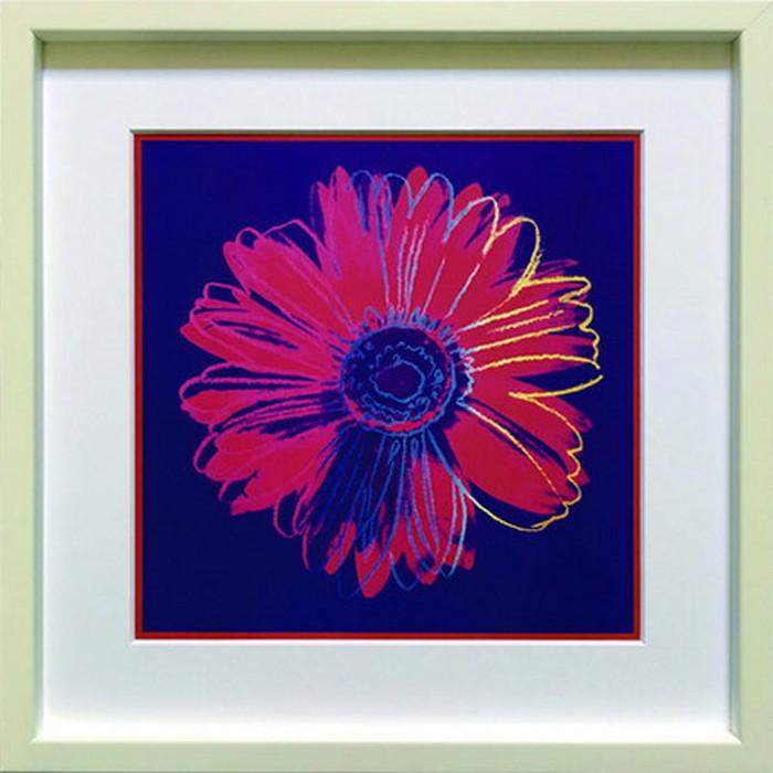 アートフレーム アンディ・ウォーホル Andy Warhol Daisy c.1982 blue & red 430x430x30mm IAW-60606 bic-6943045s1送料無料 北欧 モダン 家具 インテリア ナチュラル テイスト 新生活 オススメ おしゃれ 後払い 雑貨