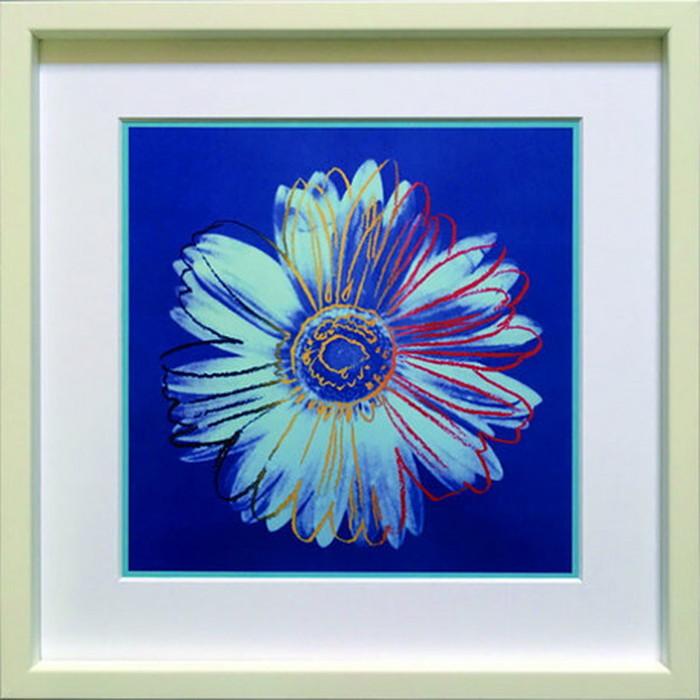 アートフレーム アンディ・ウォーホル Andy Warhol Daisy c.1982 blue and blue 430x430x30mm IAW-60665 bic-6943048s1送料無料 北欧 モダン 家具 インテリア ナチュラル テイスト 新生活 オススメ おしゃれ 後払い 雑貨