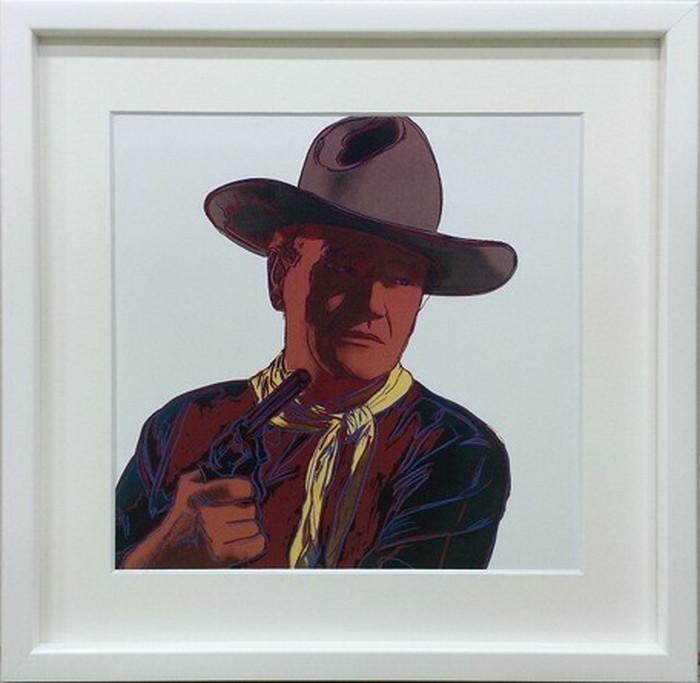 アートフレーム アンディ・ウォーホル Andy Warhol John Wayne 1986 430x430x30mm IAW-60614 bic-6943053s1送料無料 北欧 モダン 家具 インテリア ナチュラル テイスト 新生活 オススメ おしゃれ 後払い 雑貨
