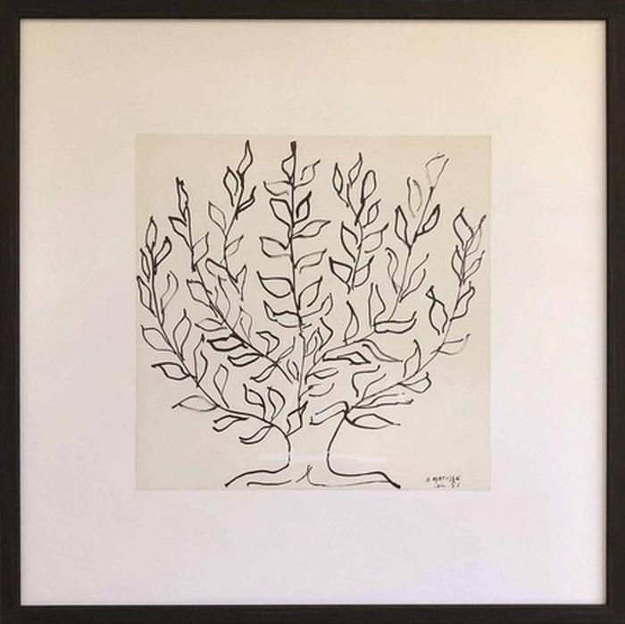 アートフレーム アンリ・マティス Henri Matisse Le platane 520x520x35mm IHM-61648 bic-6943390s1送料無料 北欧 モダン 家具 インテリア ナチュラル テイスト 新生活 オススメ おしゃれ 後払い 雑貨
