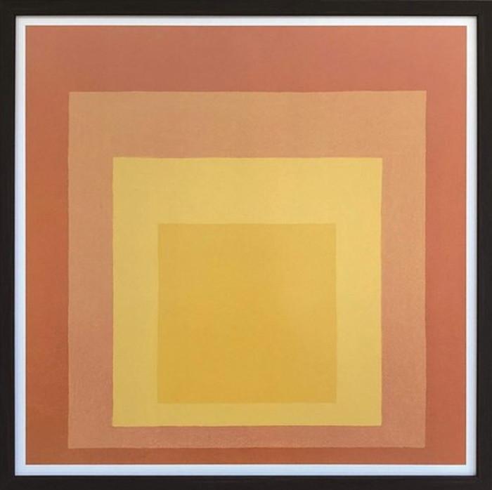 アートフレーム ジョセフ・アルバーツ Josef Albers Homage To The Square 520x520x35mm IJA-61661 bic-6943403s1送料無料 北欧 モダン 家具 インテリア ナチュラル テイスト 新生活 オススメ おしゃれ 後払い 雑貨