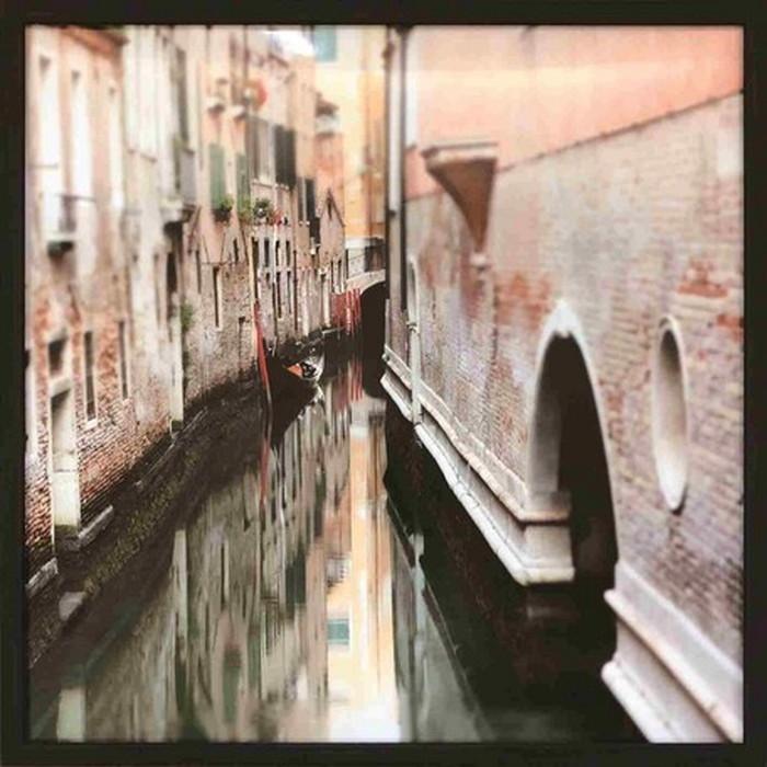 アートフレーム ジョセフ・エタ Joseph Eta Canal Meander II 520x520x35mm IJE-61665 bic-6943407s1送料無料 北欧 モダン 家具 インテリア ナチュラル テイスト 新生活 オススメ おしゃれ 後払い 雑貨