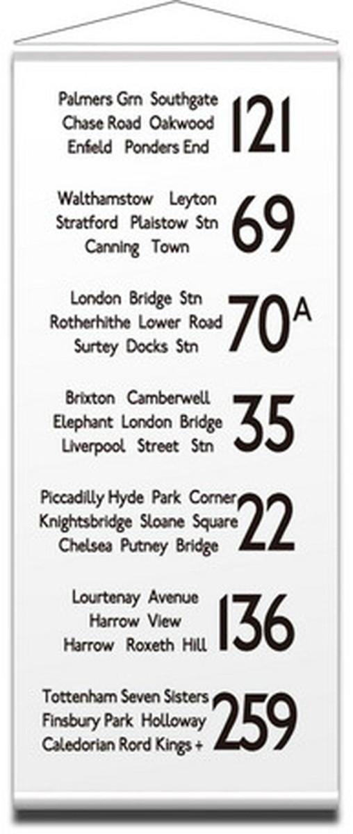 タペストリー バスロールサイン ロンドン Tapestry Bus Roll Design LONDON 2 900x2085x10mm IBR-51724 bic-7085232s1送料無料 北欧 モダン 家具 インテリア ナチュラル テイスト 新生活 オススメ おしゃれ 後払い 雑貨