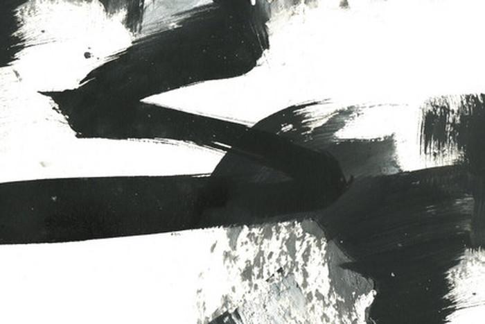 キャンバスパネル Art Panel Black and White paint stroke texture 800x530x40mm IAP-52780 bic-7184376s1送料無料 北欧 モダン 家具 インテリア ナチュラル テイスト 新生活 オススメ おしゃれ 後払い 雑貨