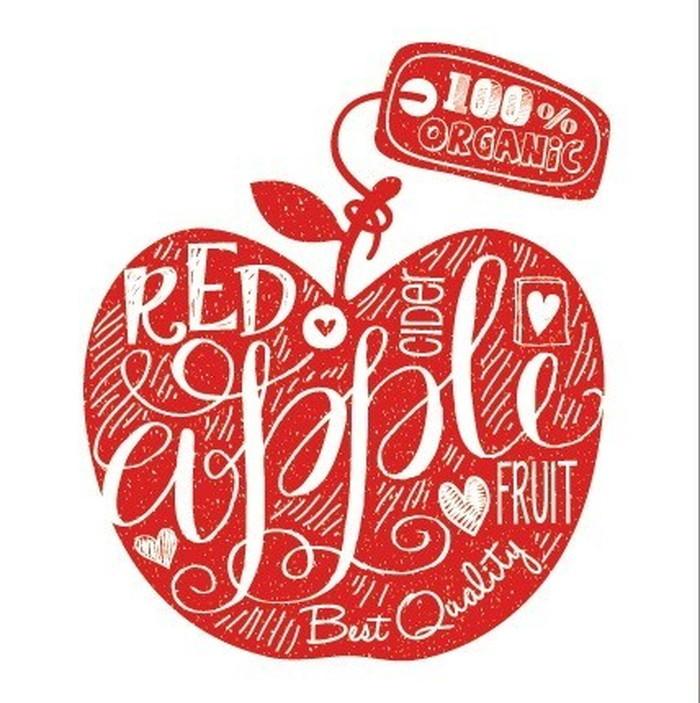 キャンバスパネル Art Panel Mini Doodle Red Apple 600x600x40mm IAP-52112 bic-7184404s1送料無料 北欧 モダン 家具 インテリア ナチュラル テイスト 新生活 オススメ おしゃれ 後払い 雑貨