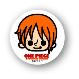 楽天市場 One Piece ワンピース パンソンワークスコラボ缶バッジ Opc03 ナミ ゼネラルステッカー