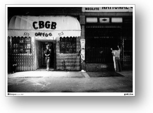 ロックシリーズ ミニポス B5サイズミニポスター 秀逸 タイムセール シービージービー CBGB POS057