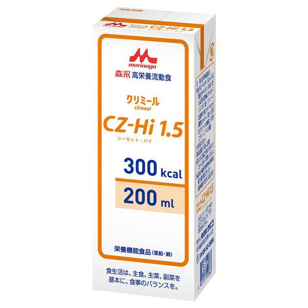 あす楽対応 森永 クリニコCZ‐Hi1.5 紙パック 流動食200ml(300kcal)×30個あずき風味 経管栄養